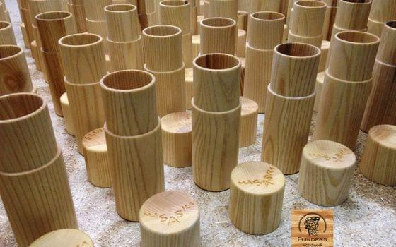 Wooden Packing Ash 150 * 55mm