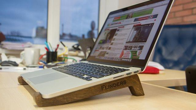 Wooden Stands for MacBook Pro / Air. Laptops Accessories