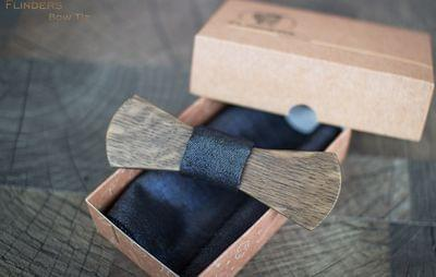 Bow Tie <ASTON> Classsic Wooden Accessory