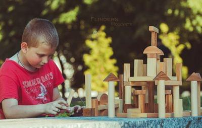Designer + Game for Children | Town of wood | FlindLand <51>