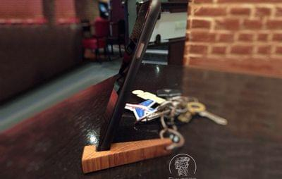 Wooden Keyring for Keys and iPhone 4/5/6/7