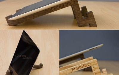 Stand  for iPad / Mini / Air <Professional>  Apple Tablet Stands Dark Oak