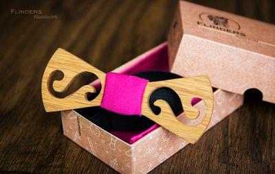 Stylish Bow Tie for Girls <Pink>