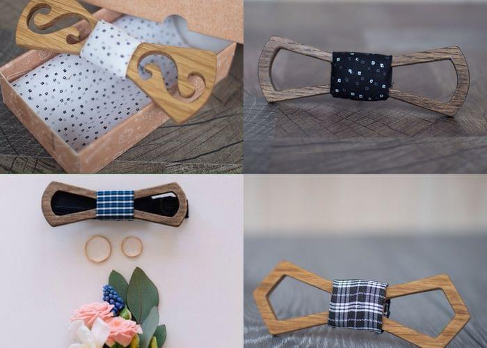 Bow tie | Set of Bow Ties from the Tree | 10 piece