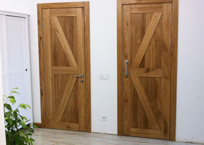 Oak Doors | Interior | Loft | Apartment