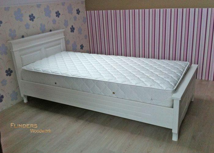Wooden Bed <White Pine> Beds for Teenager