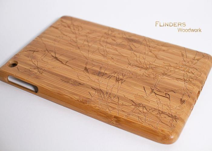 Protective Carrying Case for iPad Mini / Sturdy Wood Case / Shockproof Case for Apple
