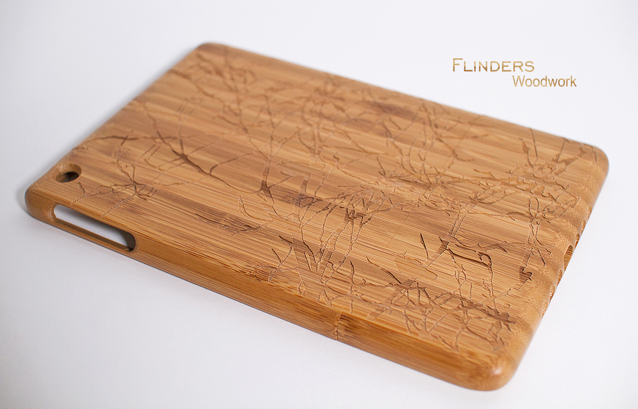 Protective Carrying Case For Ipad Mini Sturdy Wood Case Shockproof Case For Apple